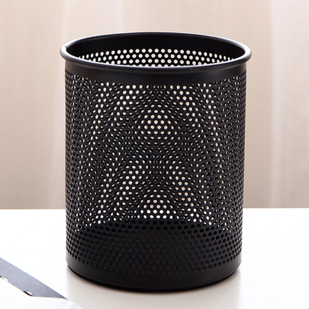 Round Mesh Pencil Pen Stationery Holder Container Organizer Office Supplies