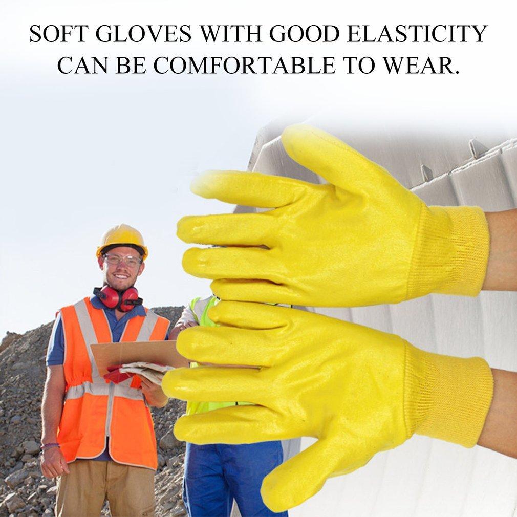 1 Pair Working Gloves Anti-slip Anti-Abrasion Wear Resistant Gloves Safety