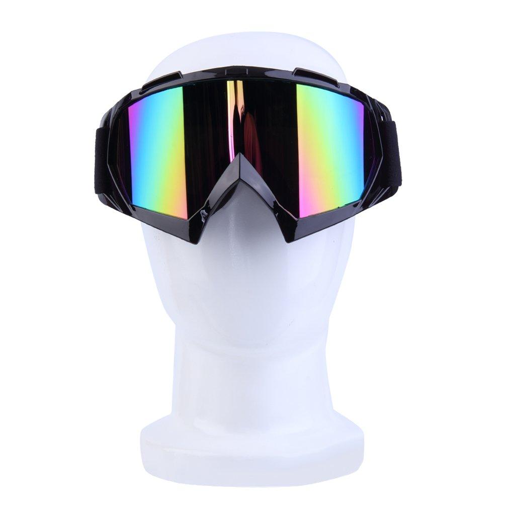 Cool Motorcycle Goggles Riding Rcing Eyewear Windproof Waterproof Anti-UV