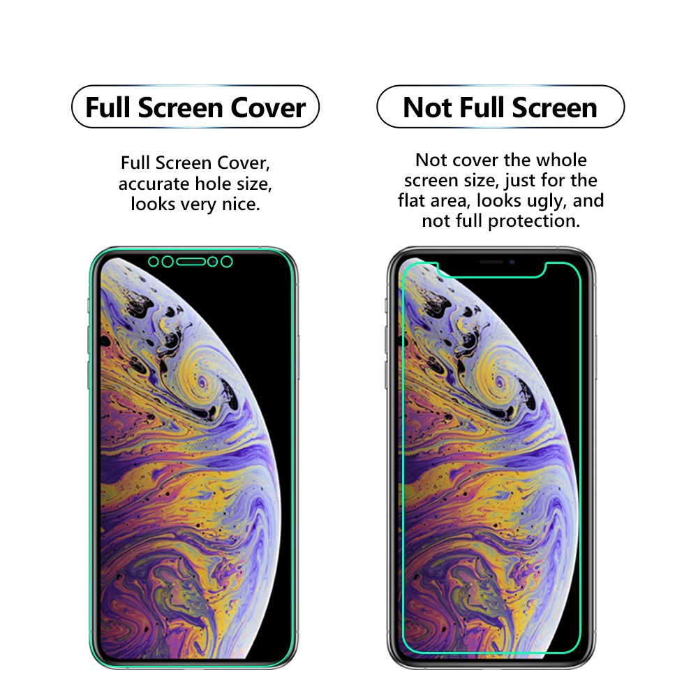 iPhone XS 3D Privacy Anti-Spy Screen Protector Film,full screen cover