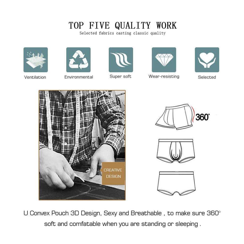 Orlvs Men Underwear Pure Natural Cotton Brief Sexy Low Waist Male Underpants