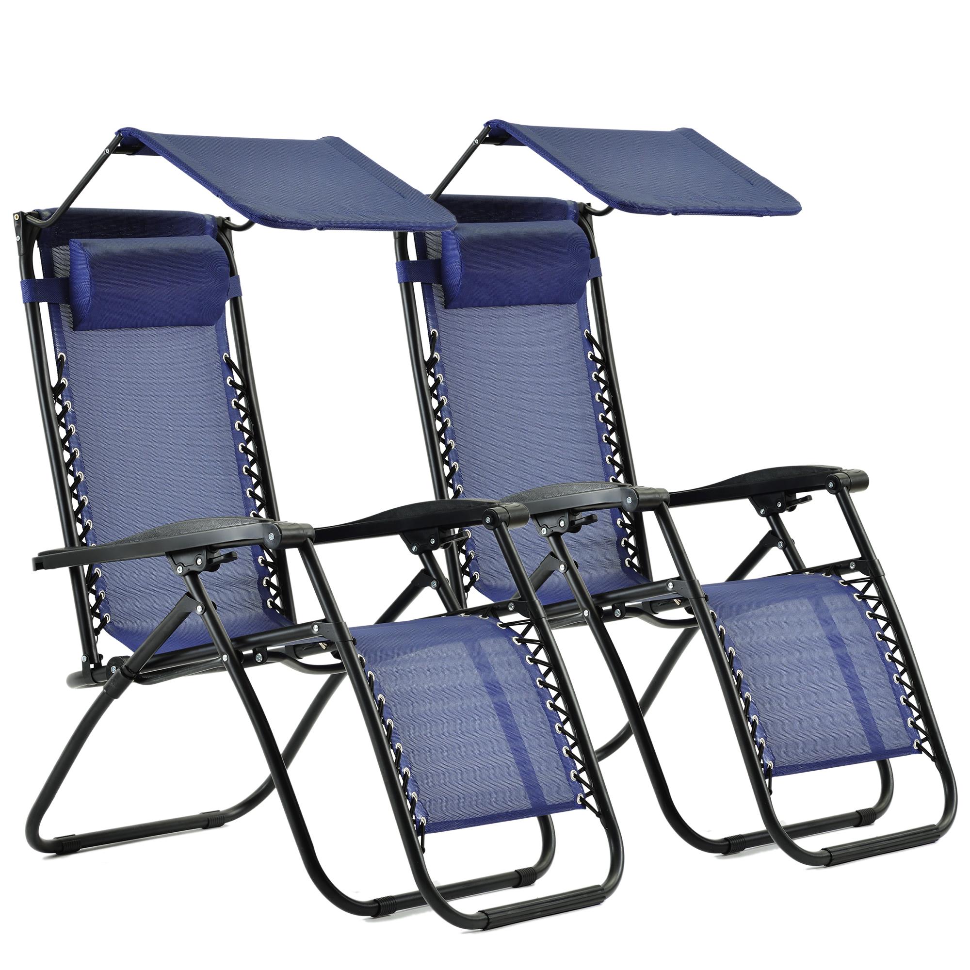 zero gravity chair folding garden chair-2-piece Suite