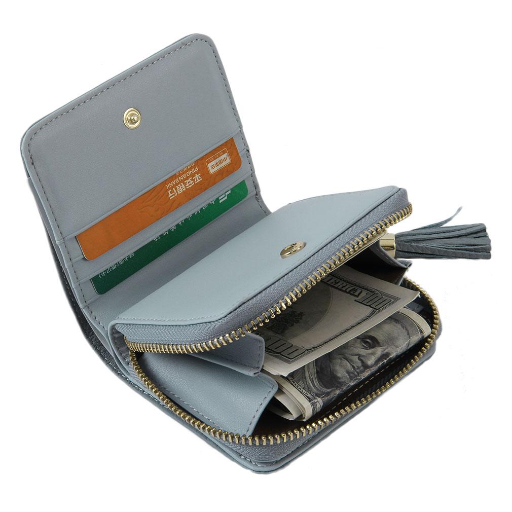 ANVERA Leather Women's Purse Short Wallet Brand Female Wallet Leather Purse