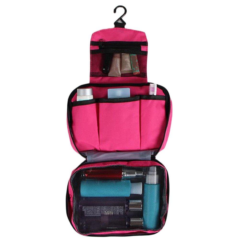 Folding Large Capacity Makeup Bag Cosmetic Beauty Organizer Toiletry Bag