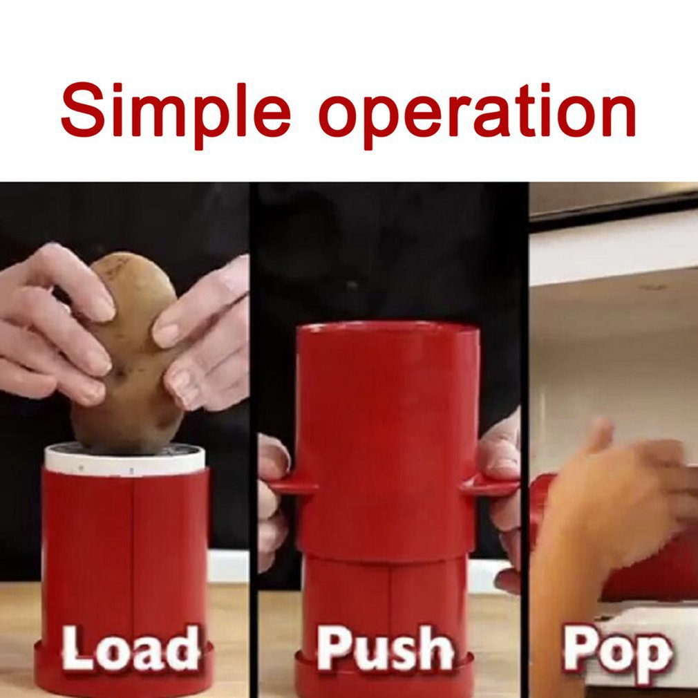 Potatoes Fries Maker Machine Potato Slicers French Fries Cutter Container