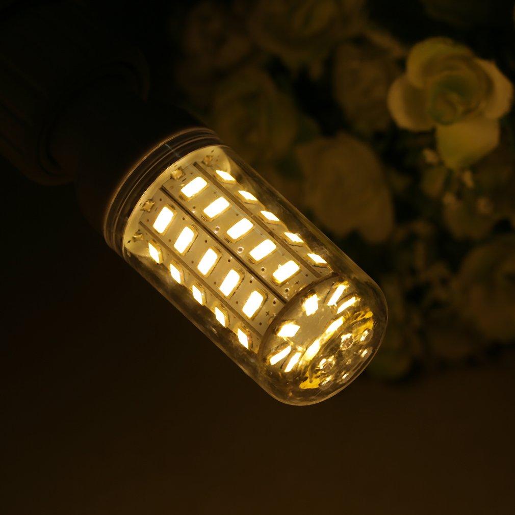 2400LM 9W E27 48 x 5730 LED Corn Bulb Lamp Warm / White Lights 220V AM
