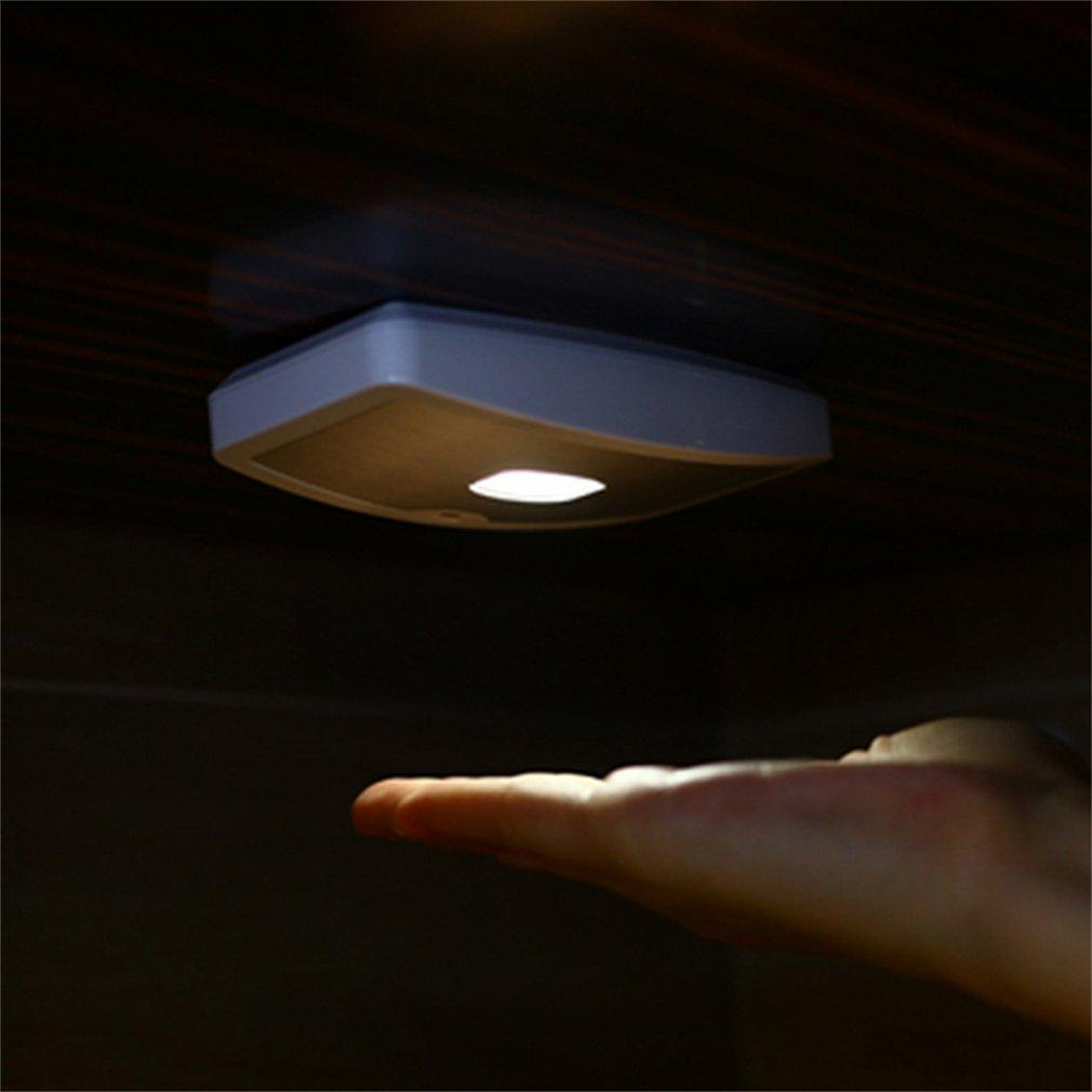 Motion Sensor Activated Induction Lamp Battery LED Night Light Wardrobe Lights