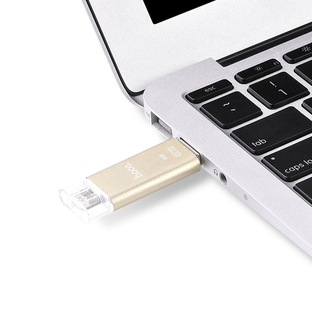 HOCO For Apple USB Flash Disk Portable Smart Office Aluminum Alloy