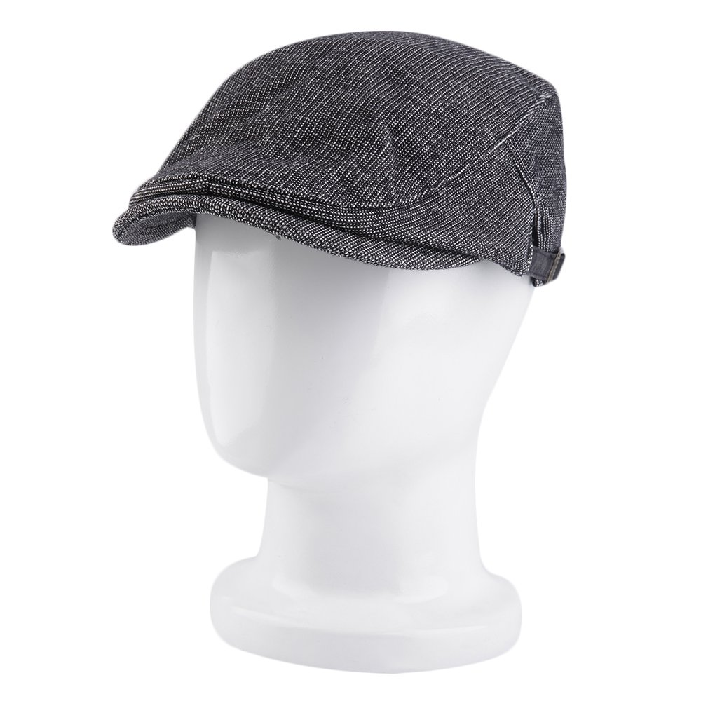 New Fashion Men Women Casual Beret Hat Cabbie Golf Driving Flat Newsboy Cap