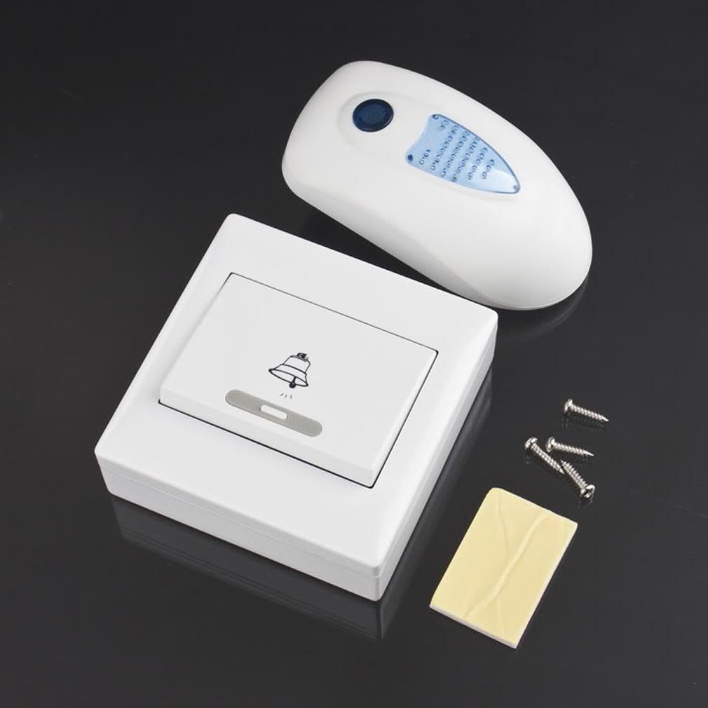 V003C 38 Songs Digital Wireless Digital Doorbell with Flashing Light