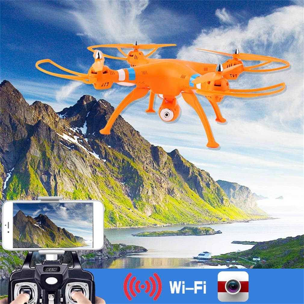 White 2.4G 6-Axle Gyro RC Quadcopter Drone RTF 2MP Wifi Camera for Syma X8W