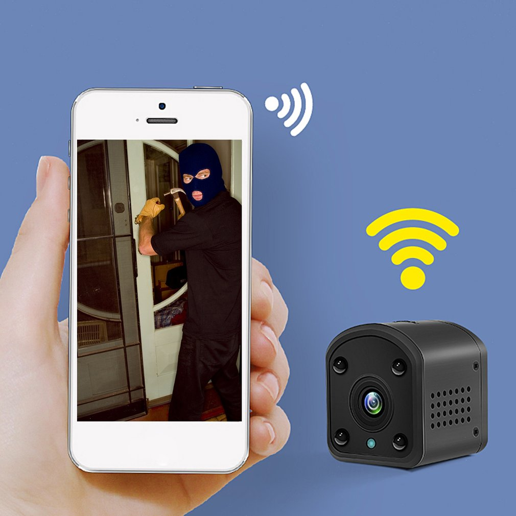 WJ02 Battery IP Camera Remote Viewing 720P WIFI Connect Infrared Night Vision