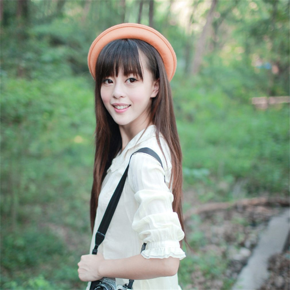 Lady Vintage Women's Wool Cute Trendy Bowler Derby Hat for Party