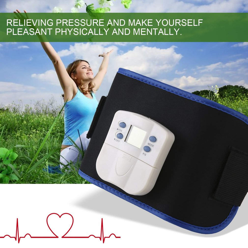 Body Building Belt Slimming Massager Belt Wireless Physio Therapy Machine