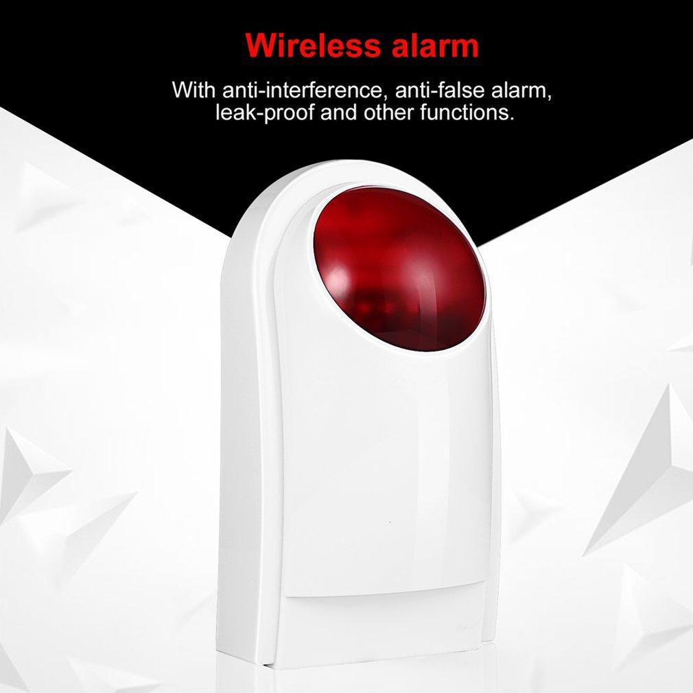 Safe Intelligent Security Emergency Alarm Wireless Door Detectors Strobe Siren