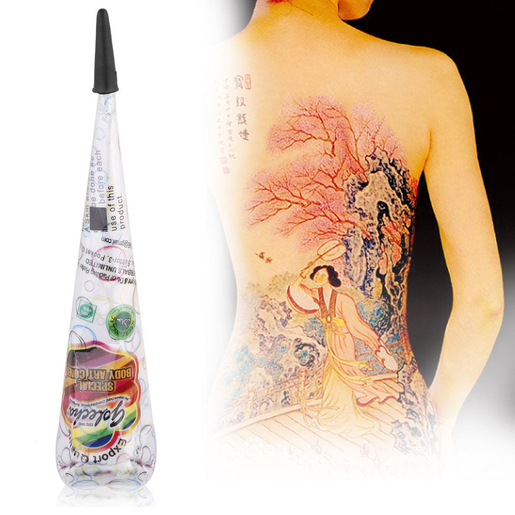 Henna Temporary Body Drawing Tattoo - White Ink