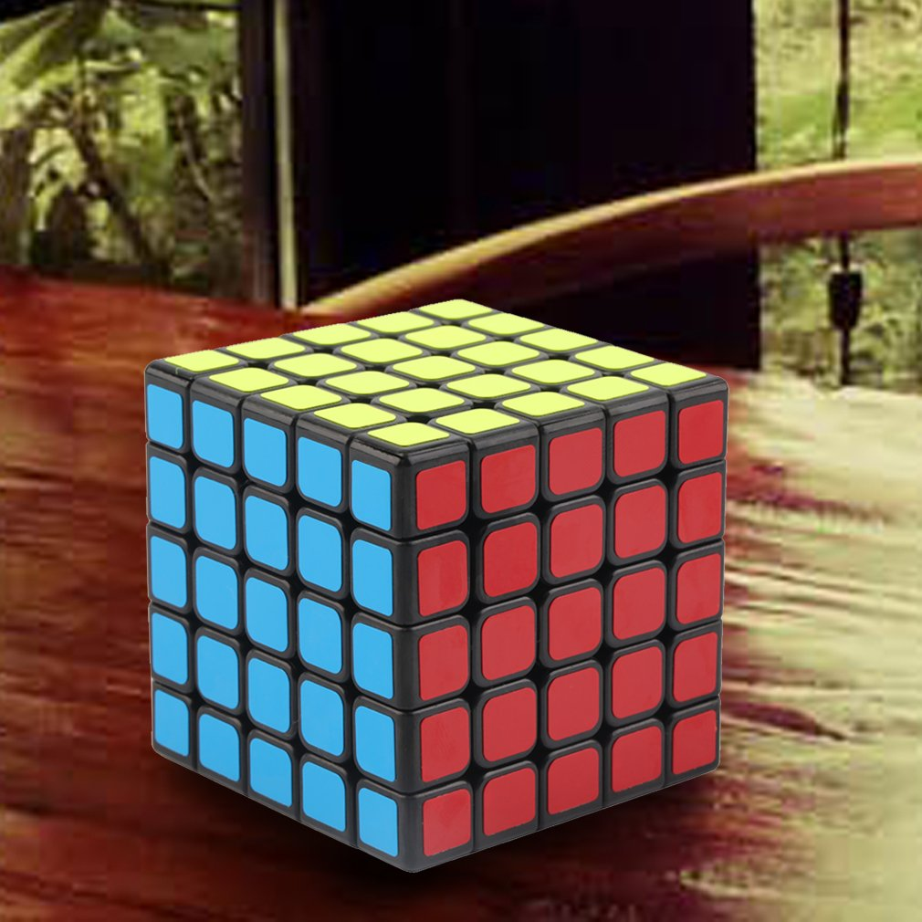 Moyu 5x5x5 5-Layer Magic Cube Puzzle Smooth Fast Speed Brain Storm Kids Toy