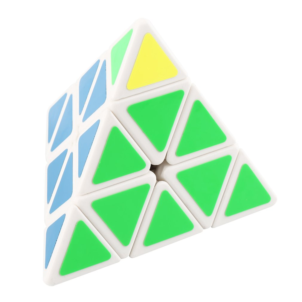 Triangle Pyramid Magic Puzzle Cube Speed Puzzle Twist Intelligence Test Toy