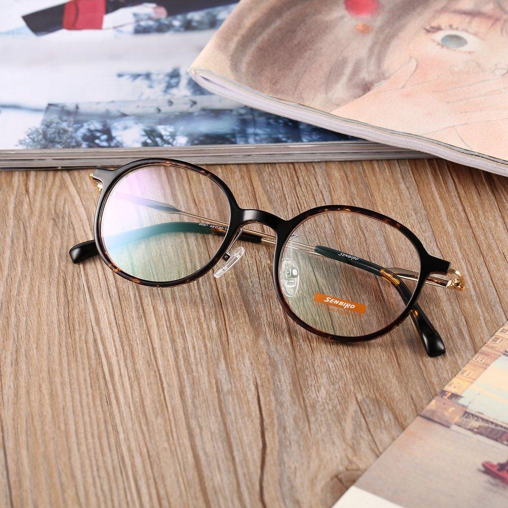 Compact Thin Glasses Frame Vintage Unisex Exquisite Eyewear Glasses Frame