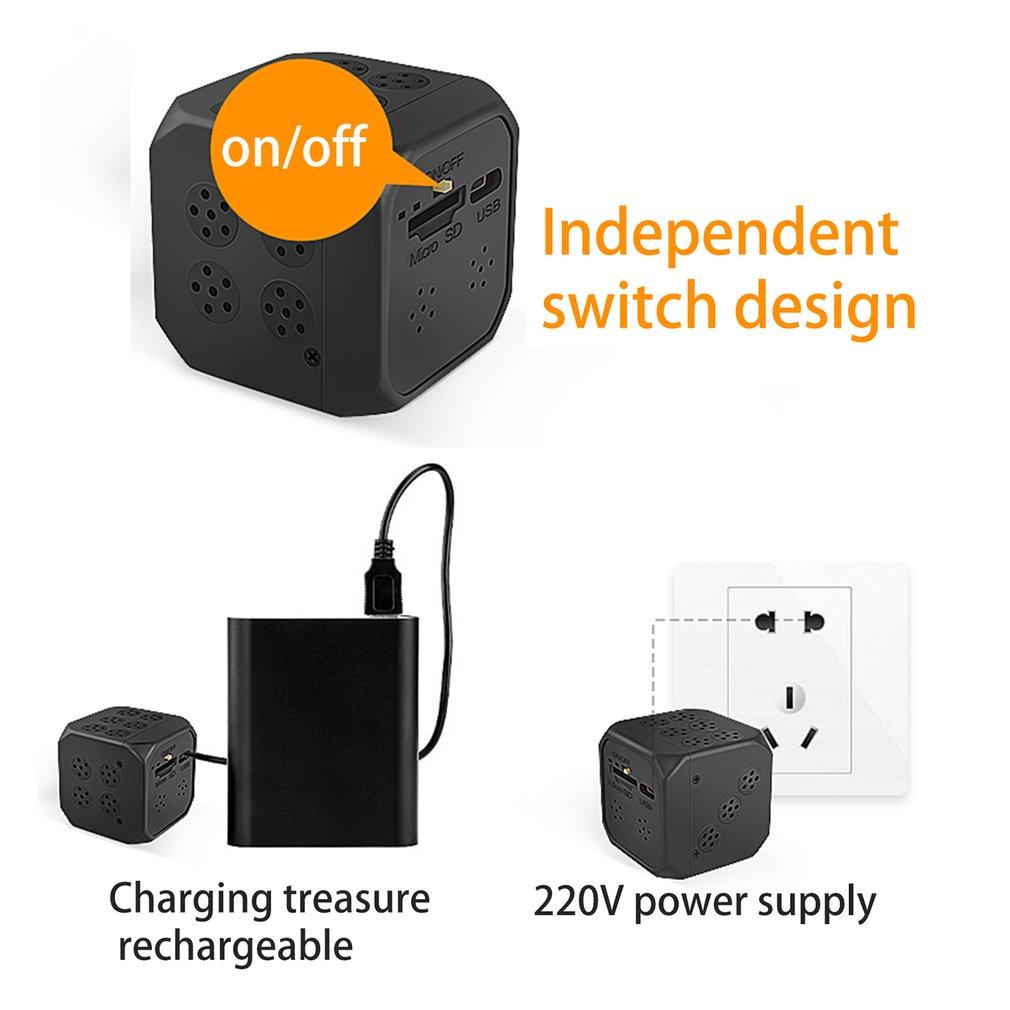 WJ03 Mini Battery IP Camera Invisible Monitoring WIFI Card Recording Camcorder