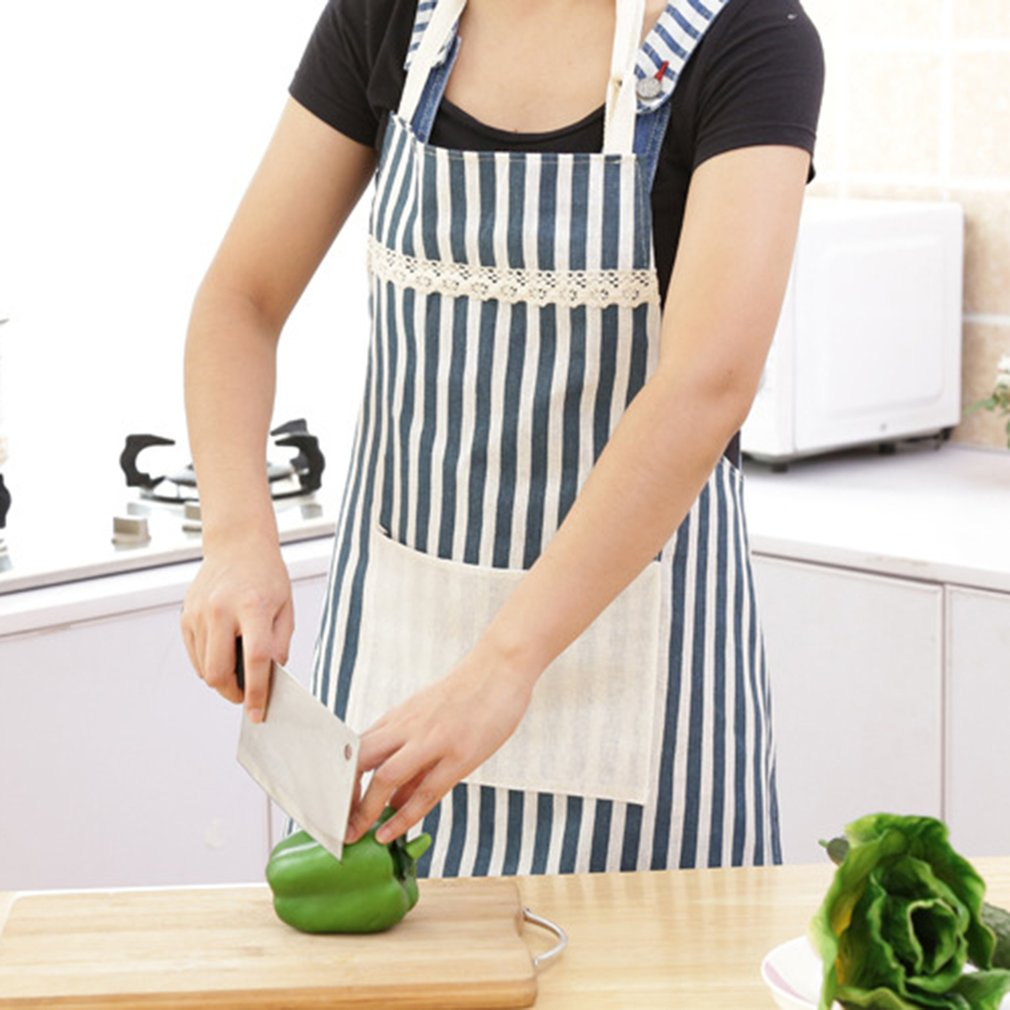 Easy Cleaning Kitchen Apron Adults Apron Women Men Dinner Party Cooking Apron