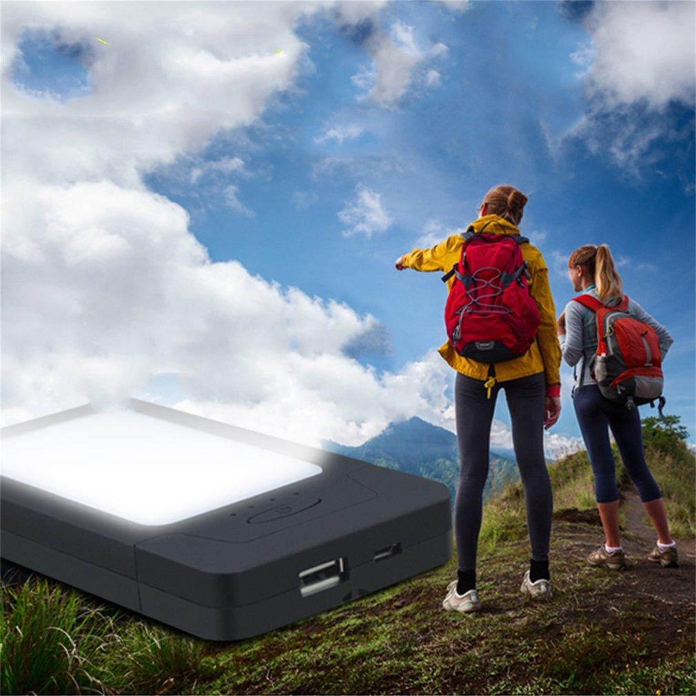 3000mAh Solar Powered Battery Mobile Phone Emergency Light Lamp Charger