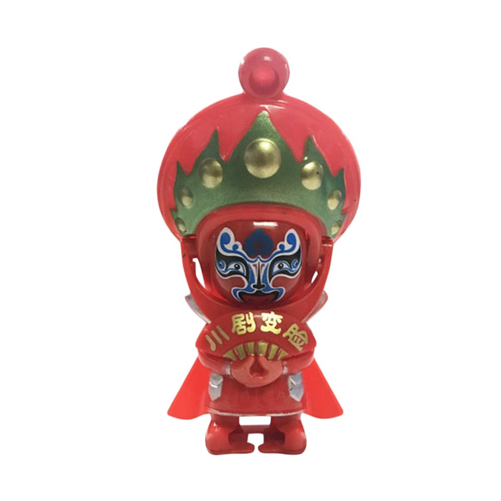 China Tradition Culture Sichuan Opera Toys Novelty Chinese Opera Funny Face Changing Doll Figure Toys Children Toys Souvenirs