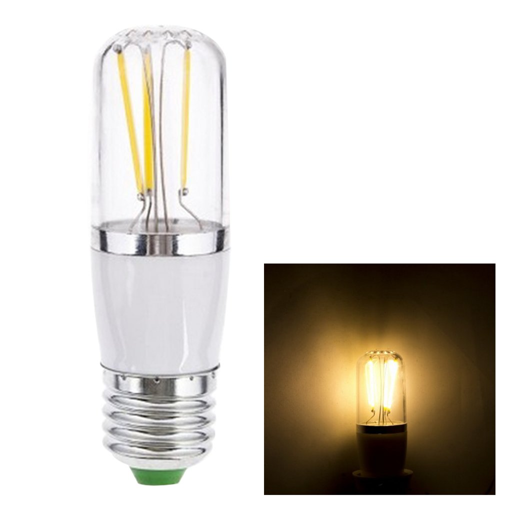 1pc E27 AC 85-265V 3W Warm/Pure White COB Filament LED Bulb Light Lamp New