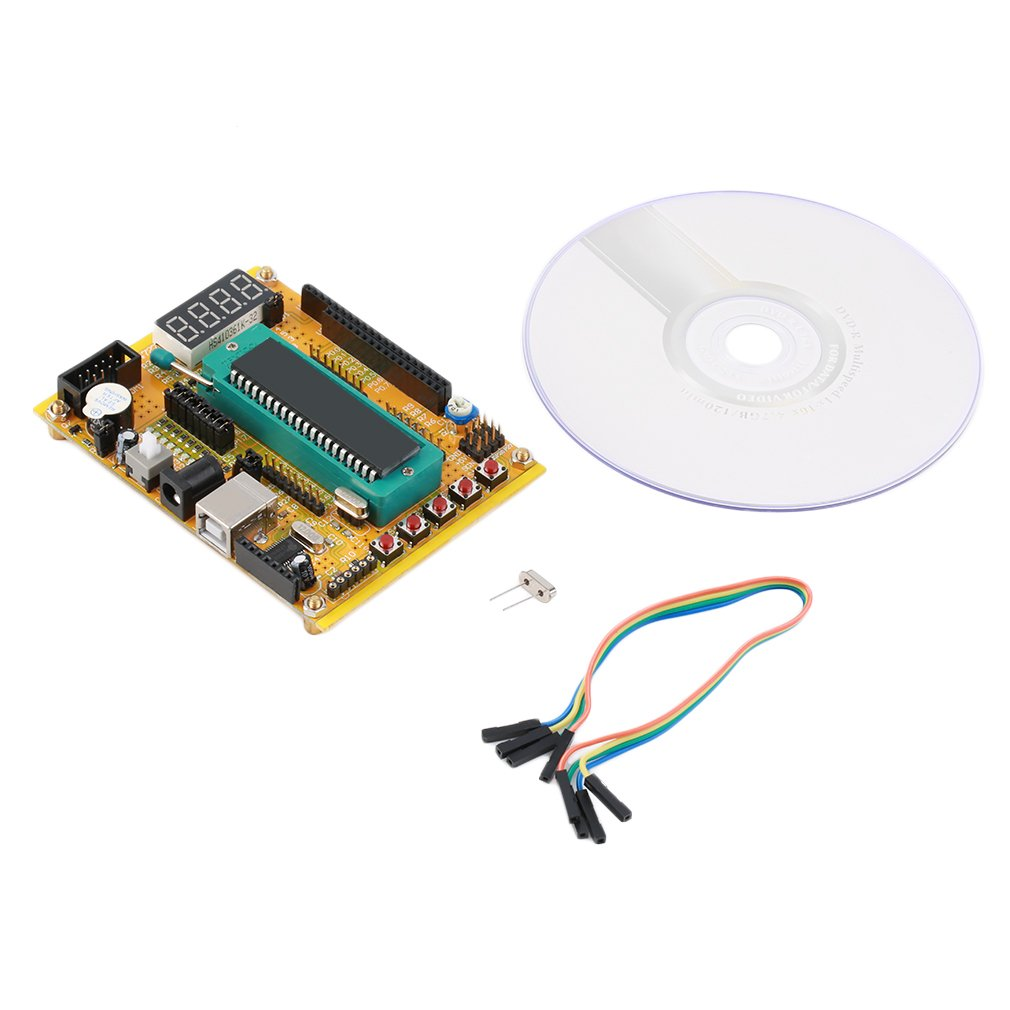 ZK-1 51 AVR MCU Microcontroller Development Board Single-chip for Arduino