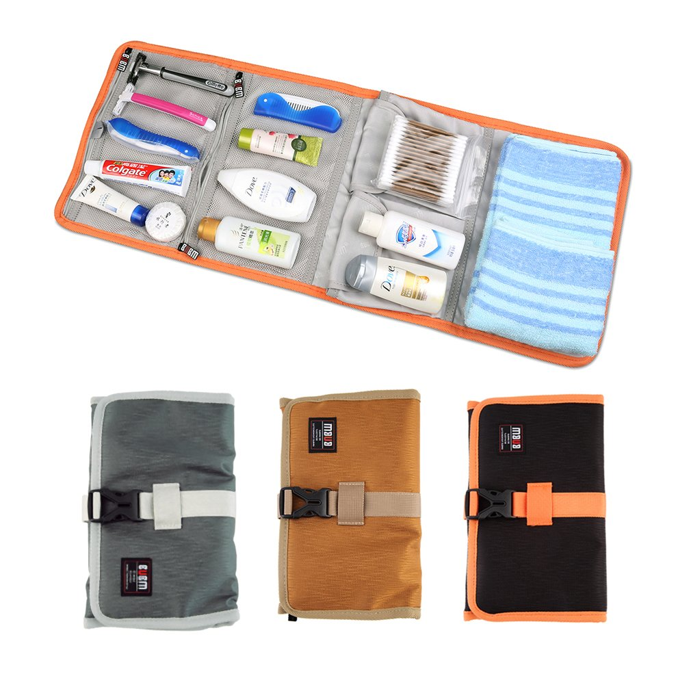 Waterproof Four Folding Grid Rolling Bag Storage Bag Case For Travel