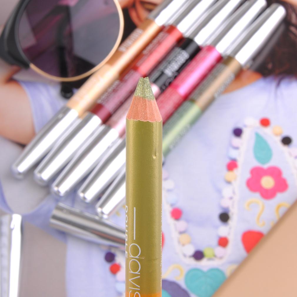 12pcs/Set Double Head Waterproof Long Lasting Eye Cosmetic Makeup Pen Kit