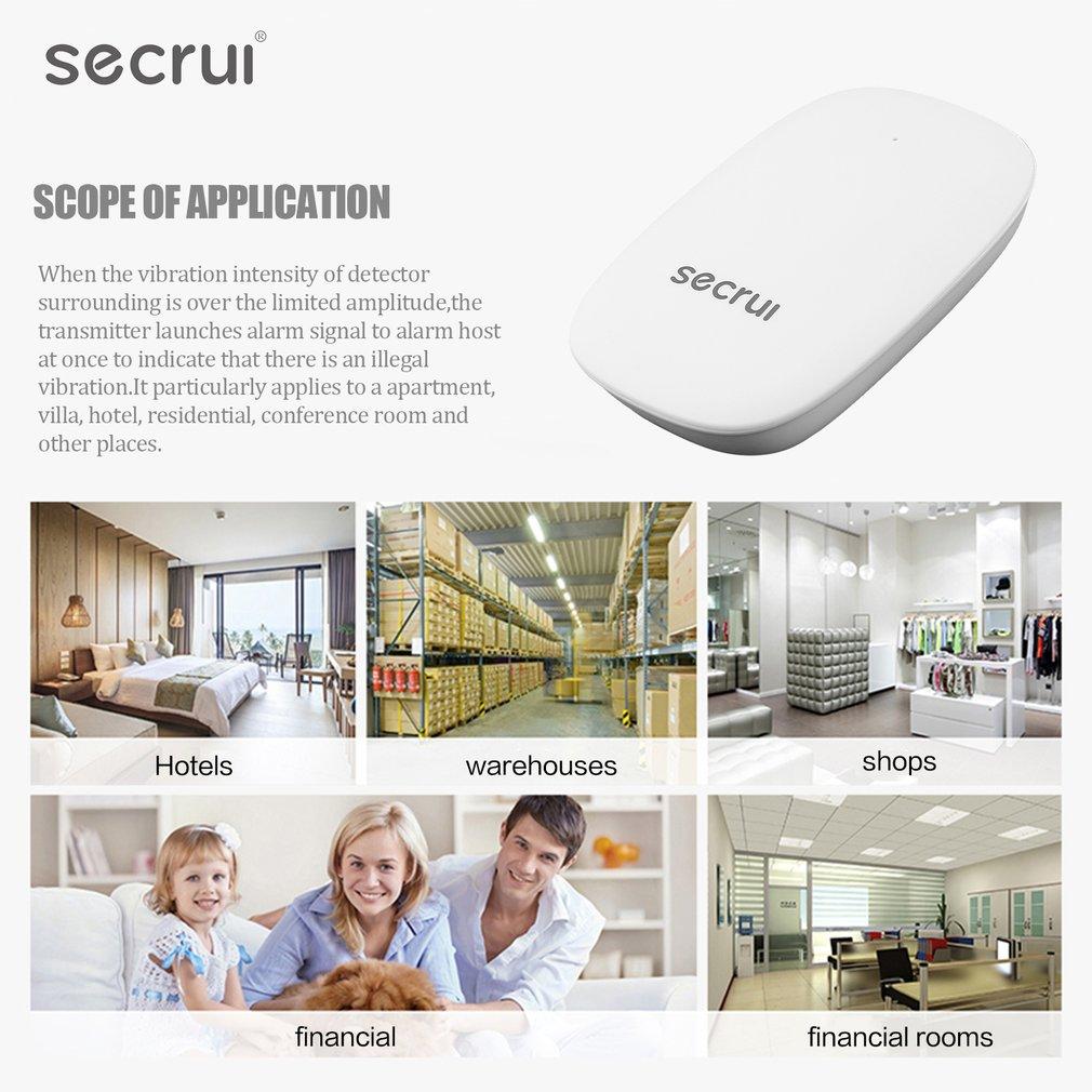 SECRUI Z31 Wireless Vibration Detector Shock Sensor Home Villa Alarm System