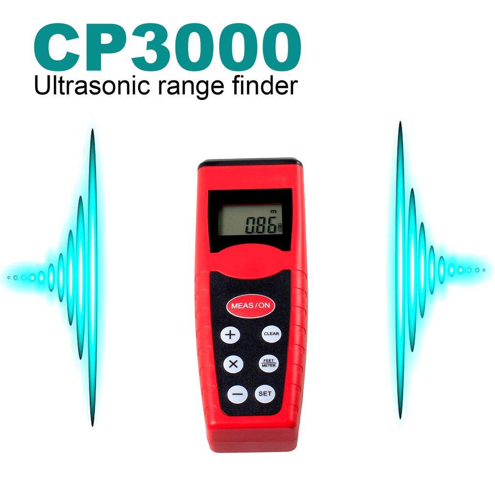 CP3000 Electric Infrared Laser Ultrasonic Distance Range Meter Rangefinders