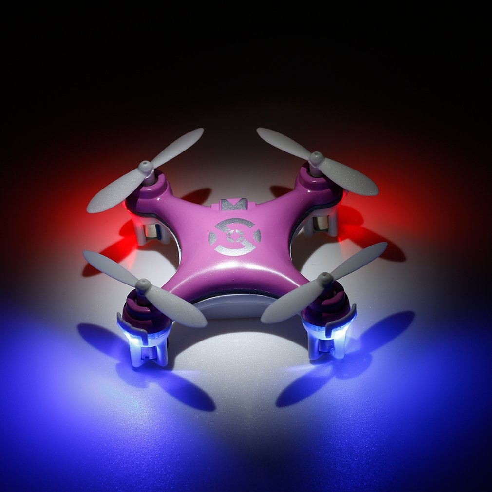 Pink RC Quadcopter 4 Channel 2.4GHz Headless Mode Drone for Cheerson CX-10