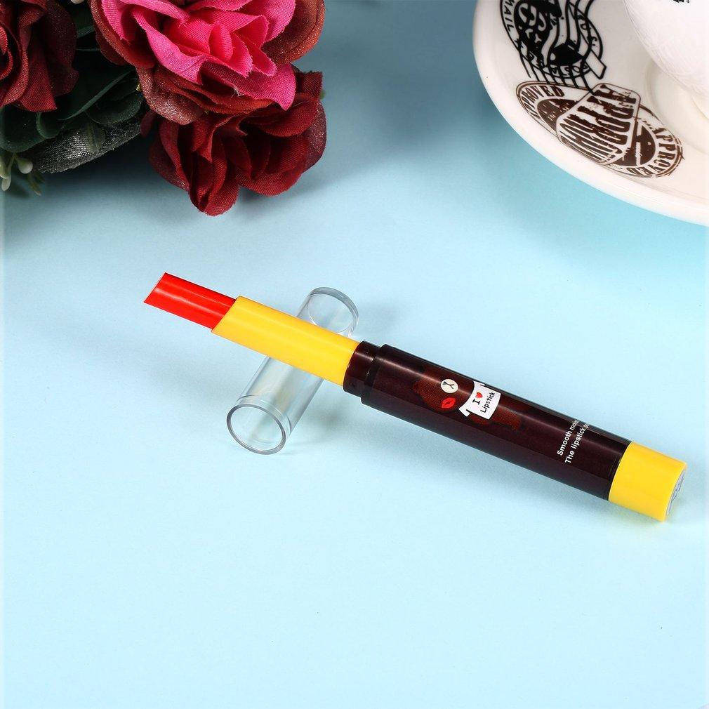 Women Cosmetics Matte Lipstick Pen Beautiful Sexy Smooth Moist Lipstick