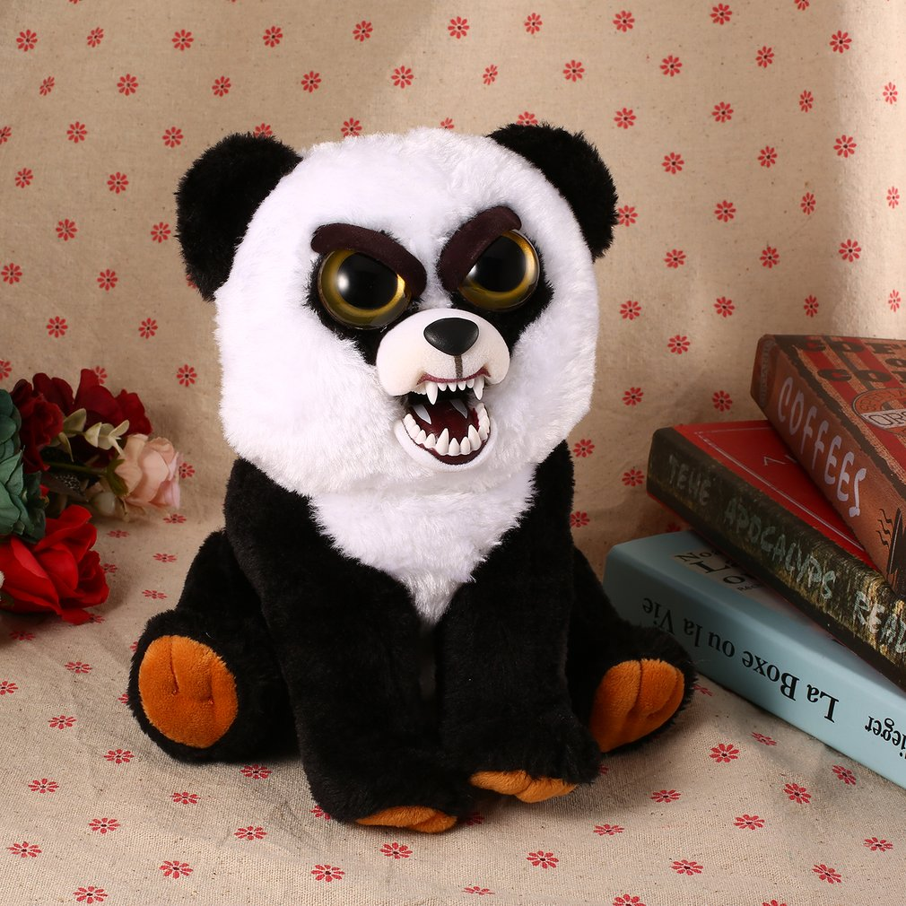 Funny Facial Expression Change Animal Adorable Stuffed Plush Toys Dolls Gift