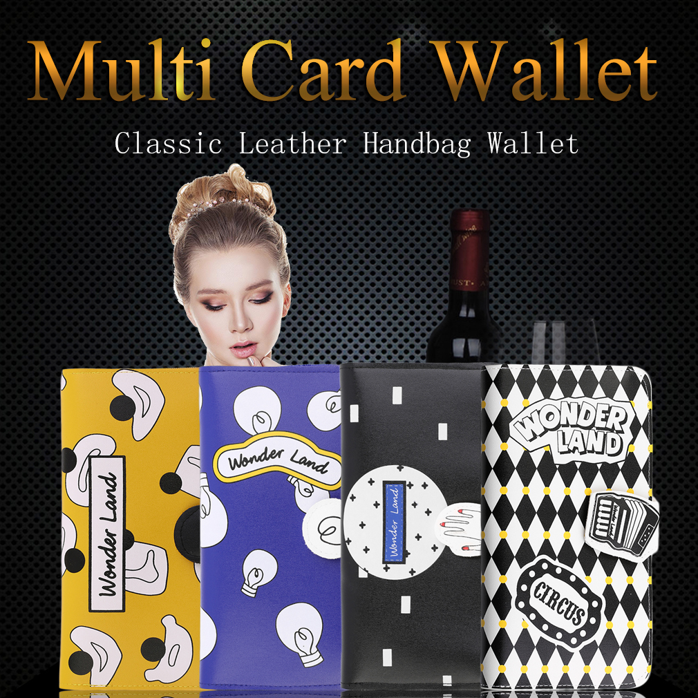 Creative Lovely Sweet Style Passport Wallet Card Holders PU Leather Wallet