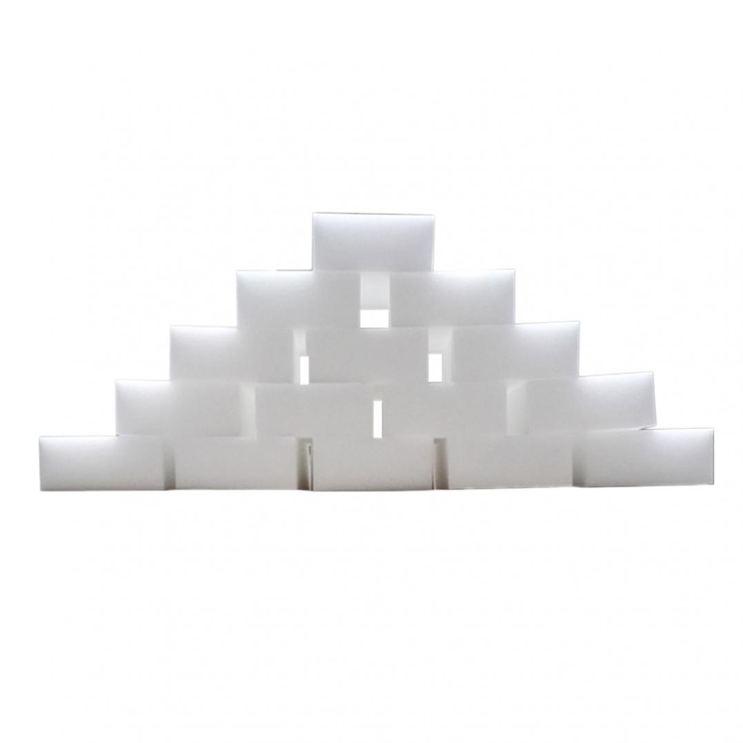 100Pcs Nano Sponge Pad Car Dish Washing Cleaner Kitchen Bathroom Cleaning Tools