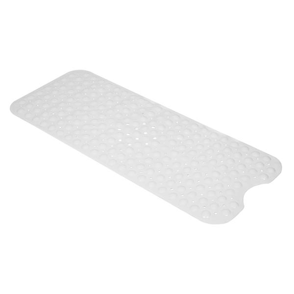 Bathroom Bathtub Non-slip Bath Mat 99*39cm Milky White