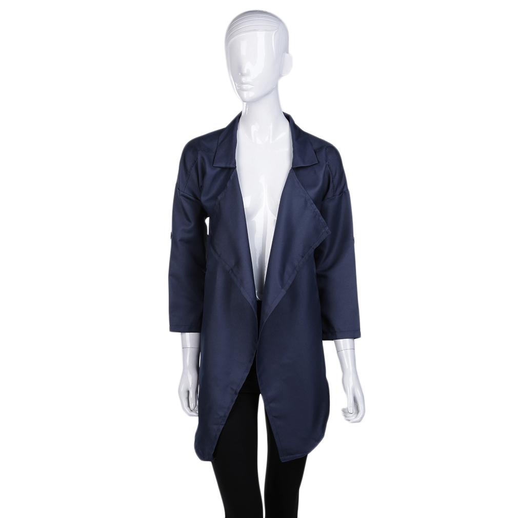 M/L Women's Girls Loose Long Sleeves Cardigan Coat Jacket Outerwear Tops