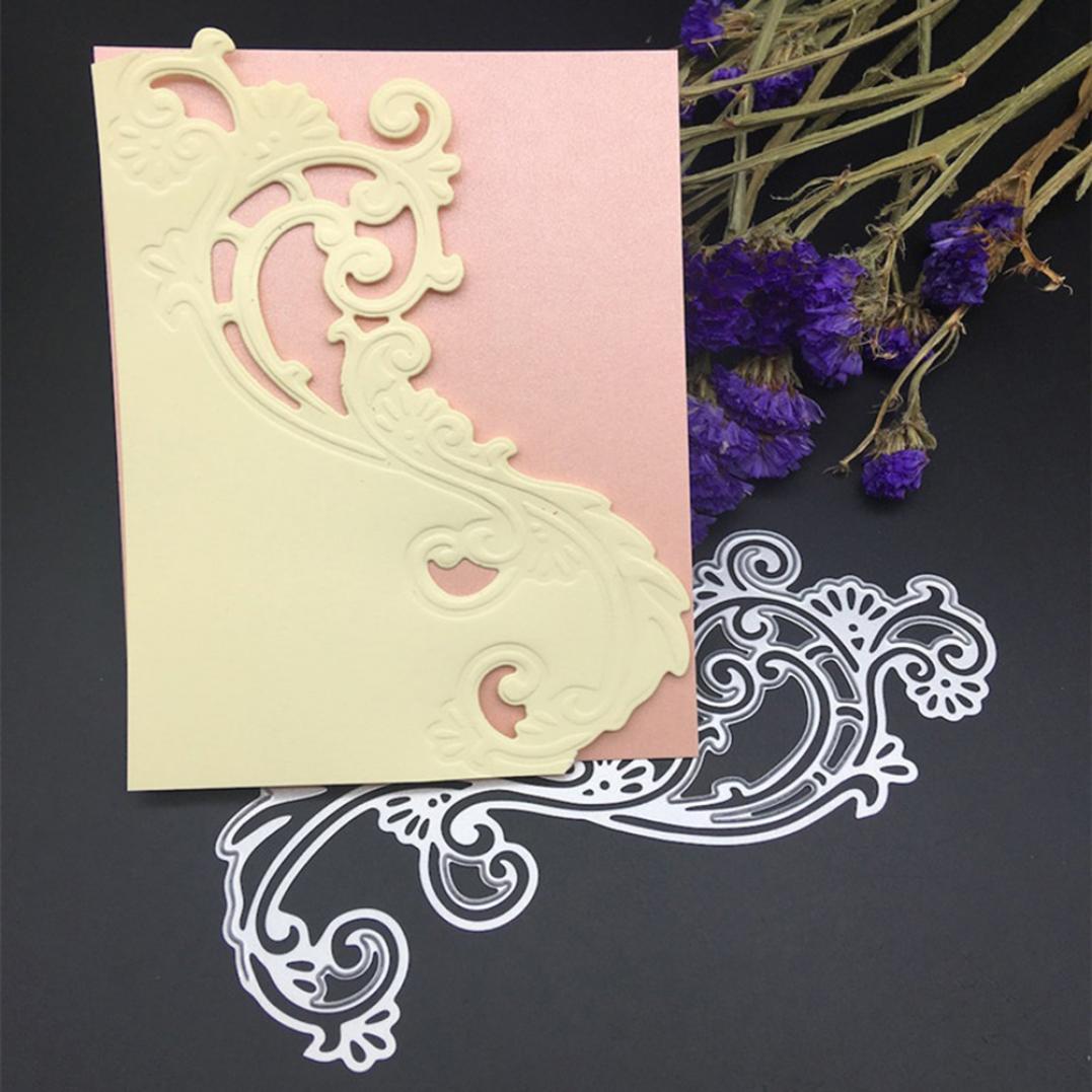 Flower Pattern DIY Cutting Dies Stencil Scrapbooking Album Paper Card Template