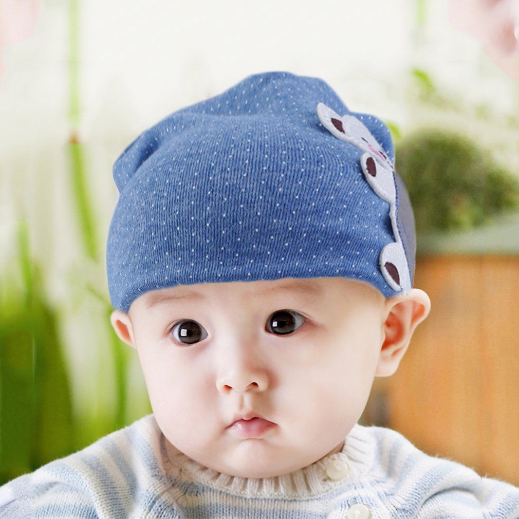 Korean Soft Winter Autumn Newborn Baby Hat Kids Infant Cap Cotton Beanie