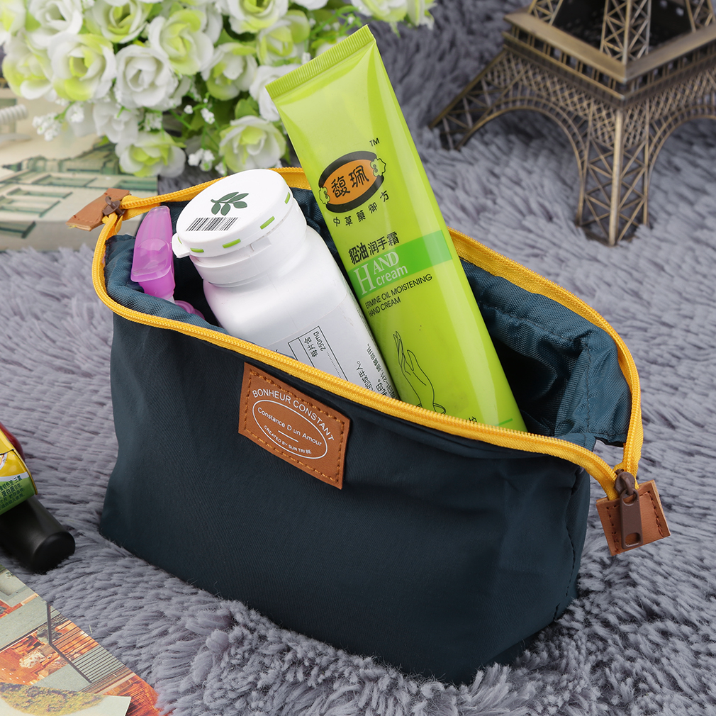 Travel Cosmetic Bag Girl Fashion Multifunction Makeup Pouch Waterproof Case