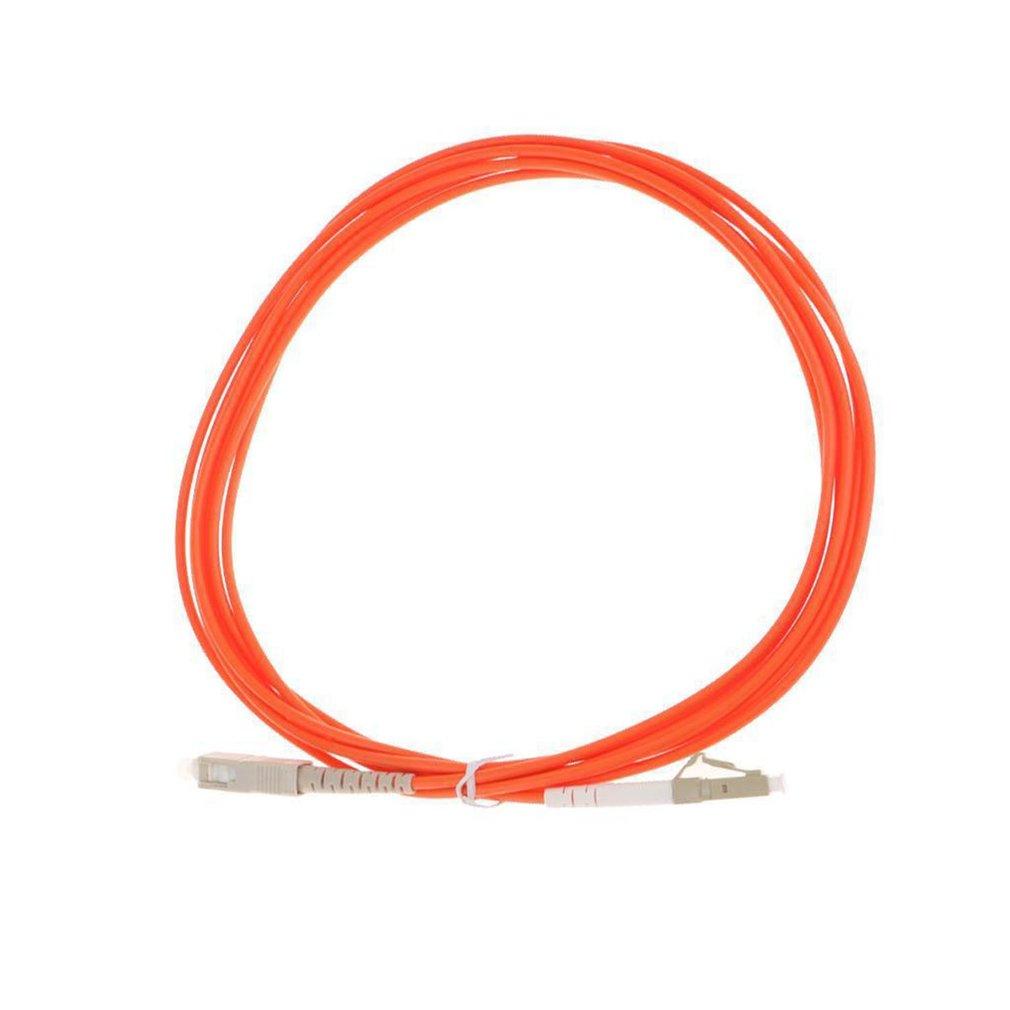 3-Meter Single Modes Double Cores Fiber Jumper Patch Cord Fiber Optical Cable