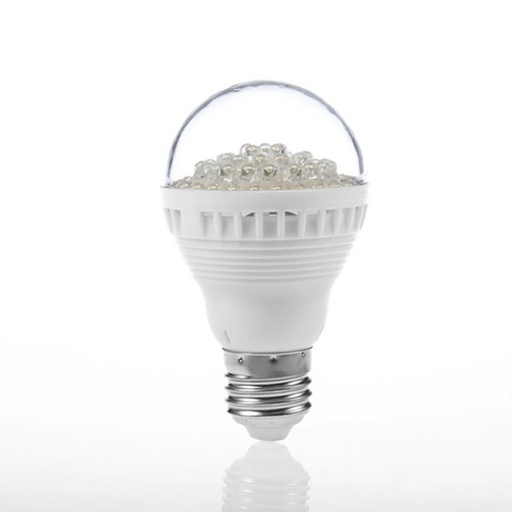Pyramid bulb 60 the beads 5W110V warm white E27 head
