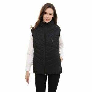 Electric Heated Jackets Vest for Men Women One Size Adjustable 94cm to 114cm