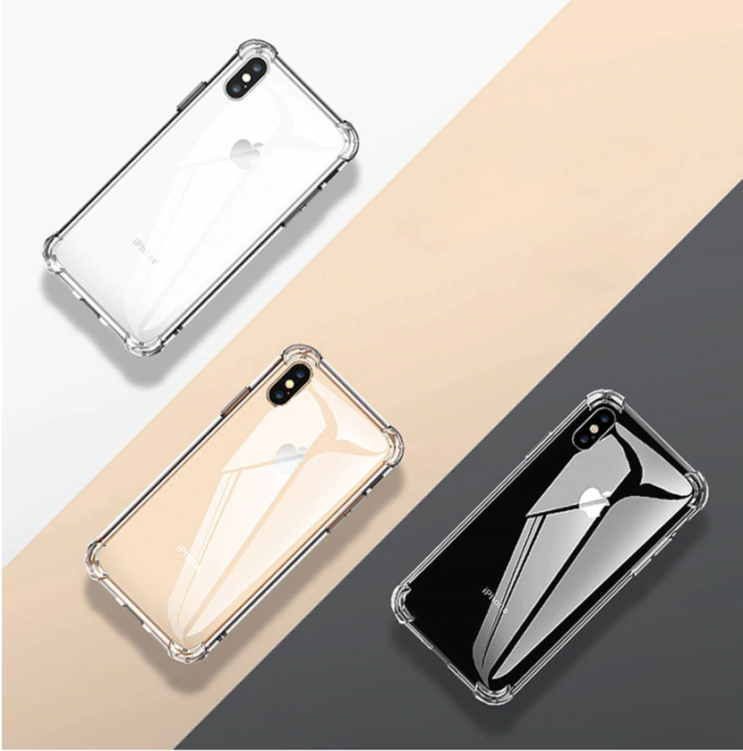 Phone Case For iPhone 7 8 6 6S Plus 7 Plus 8 Plus XS Max XR 11 Case Transparent Protection Back Cove
