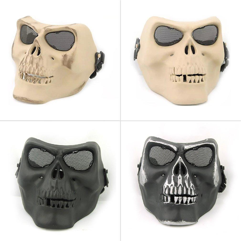 Outdoor Army Riding Cycling Protective Terror Skull Skeleton CS War Face Mask