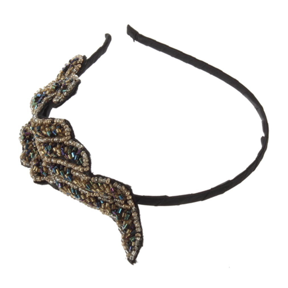 HOT 2012 Women Girl Vintage Fashion Plant Style Blink Headband Hairband Hair