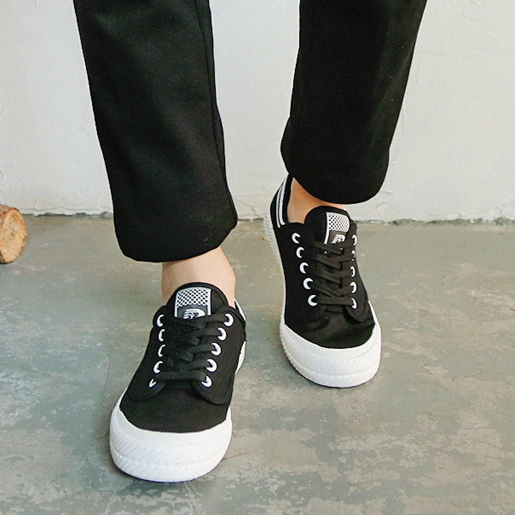 RENBEN 7310 Man Casual Canvas Shoes Student Leisure Sports Low Upper Shoes